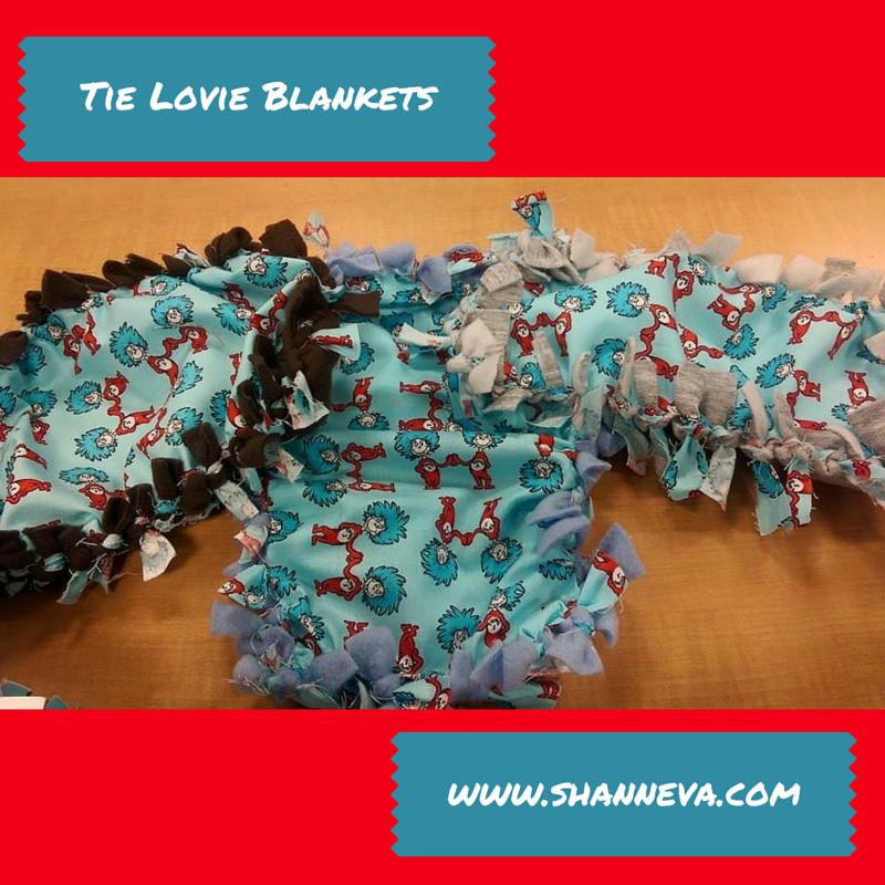 Tie Lovie Blankets