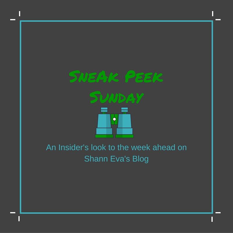 Sneak Peek Sunday
