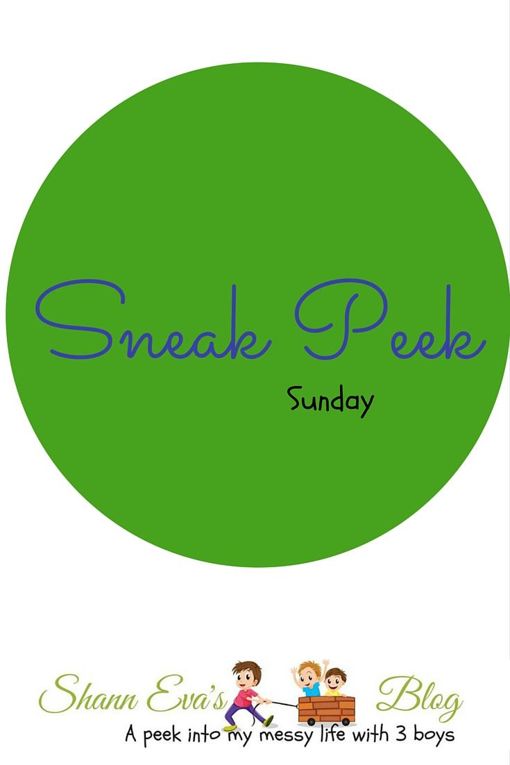 Sneak Peek Sunday (3)
