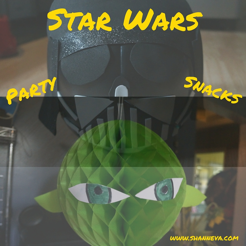 Star Wars Party Snacks