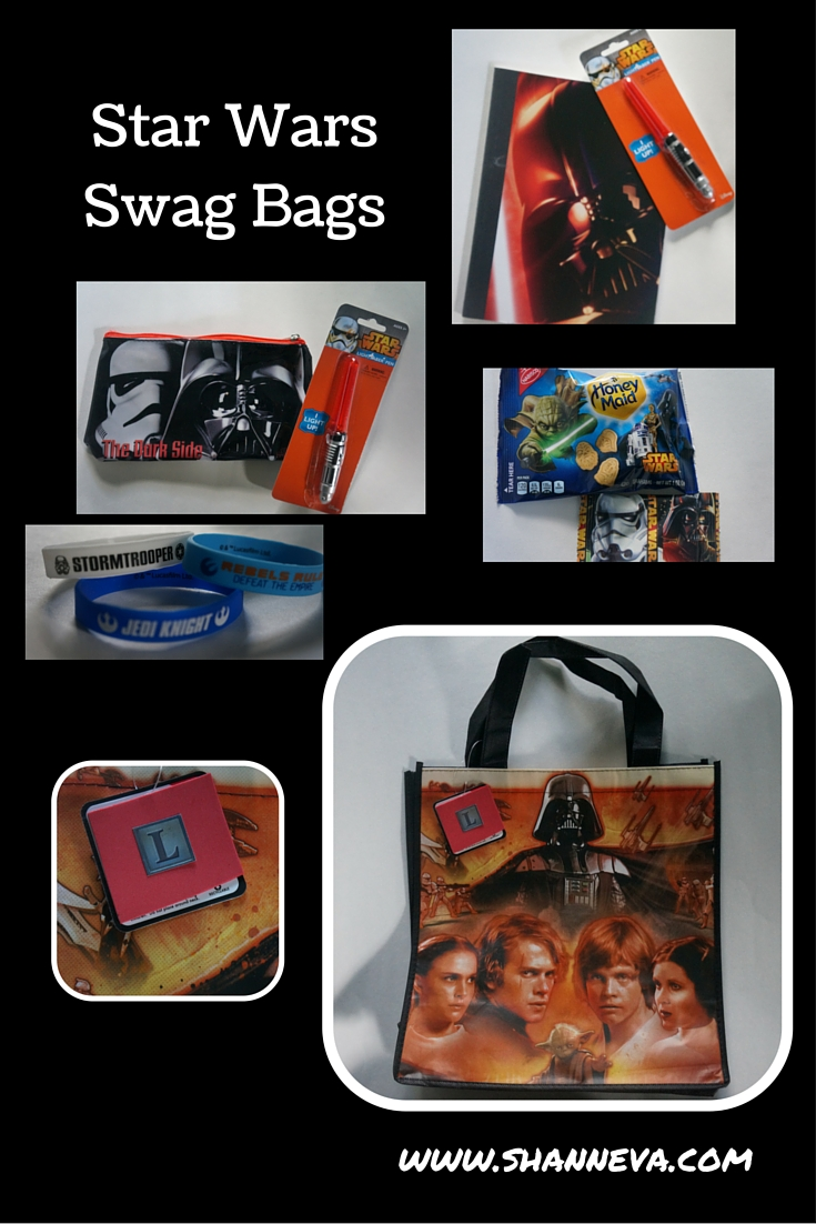 star wars inspired party favors swag bags