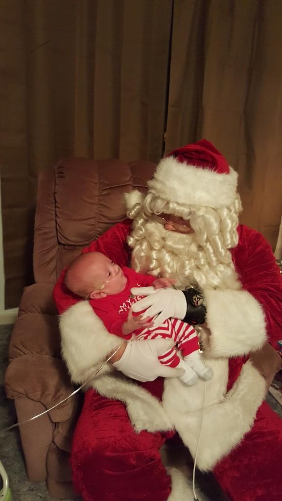 John with santa