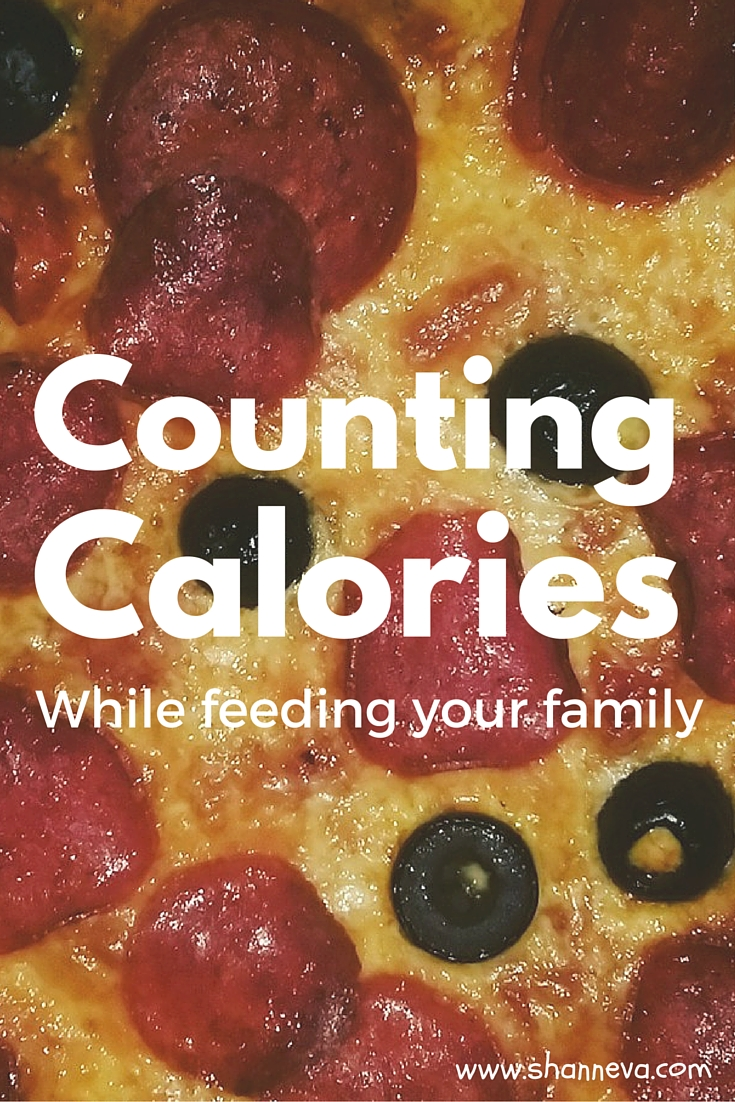 counting calories while feeding your family