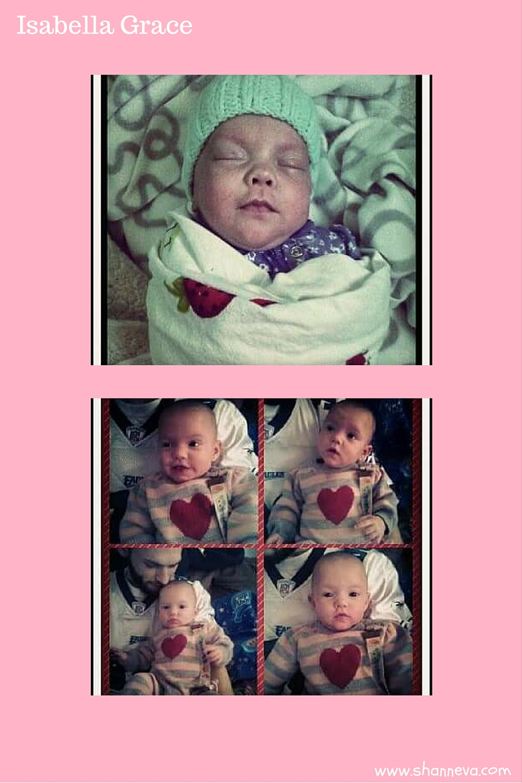 preemie Isabella against the odds
