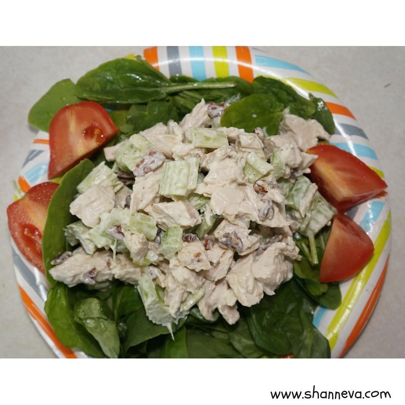 chicken salad halfway