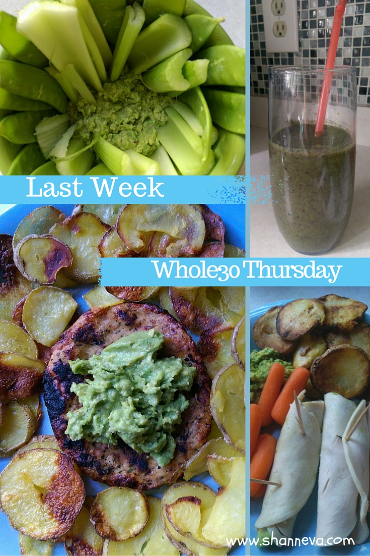 Last week on Whole30