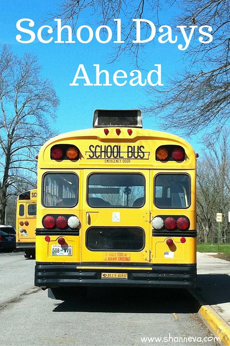 school days ahead