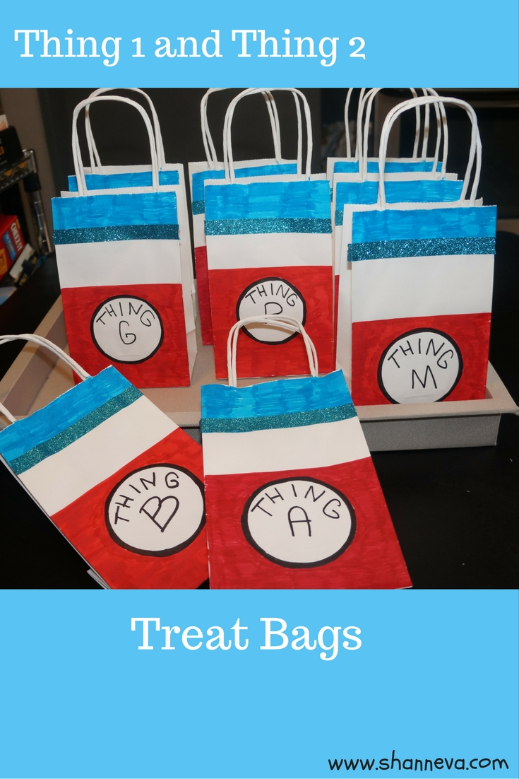 dr. seuss party treat bags