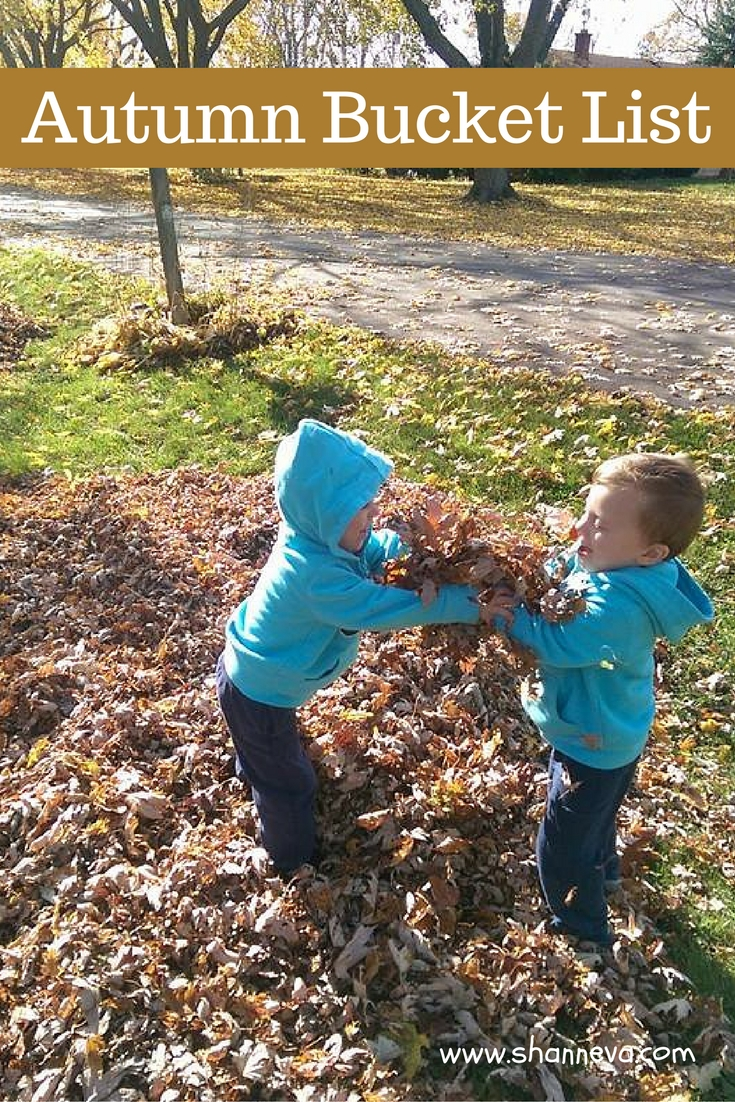 Our Autumn Bucket List, Simple and fun activities for the entire family