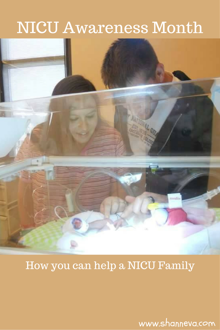 NICU Awareness Month, How you can help a family going through the NICU