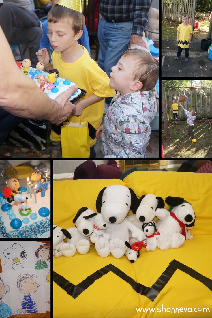 Photos from our Peanuts inspired party
