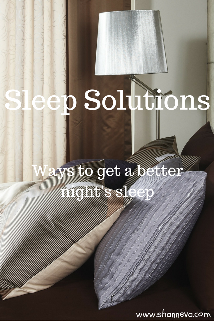 There are a few reasons I'm not getting enough sleep. I'm sharing those reason, plus giving you some solutions to help you get a better night's sleep.