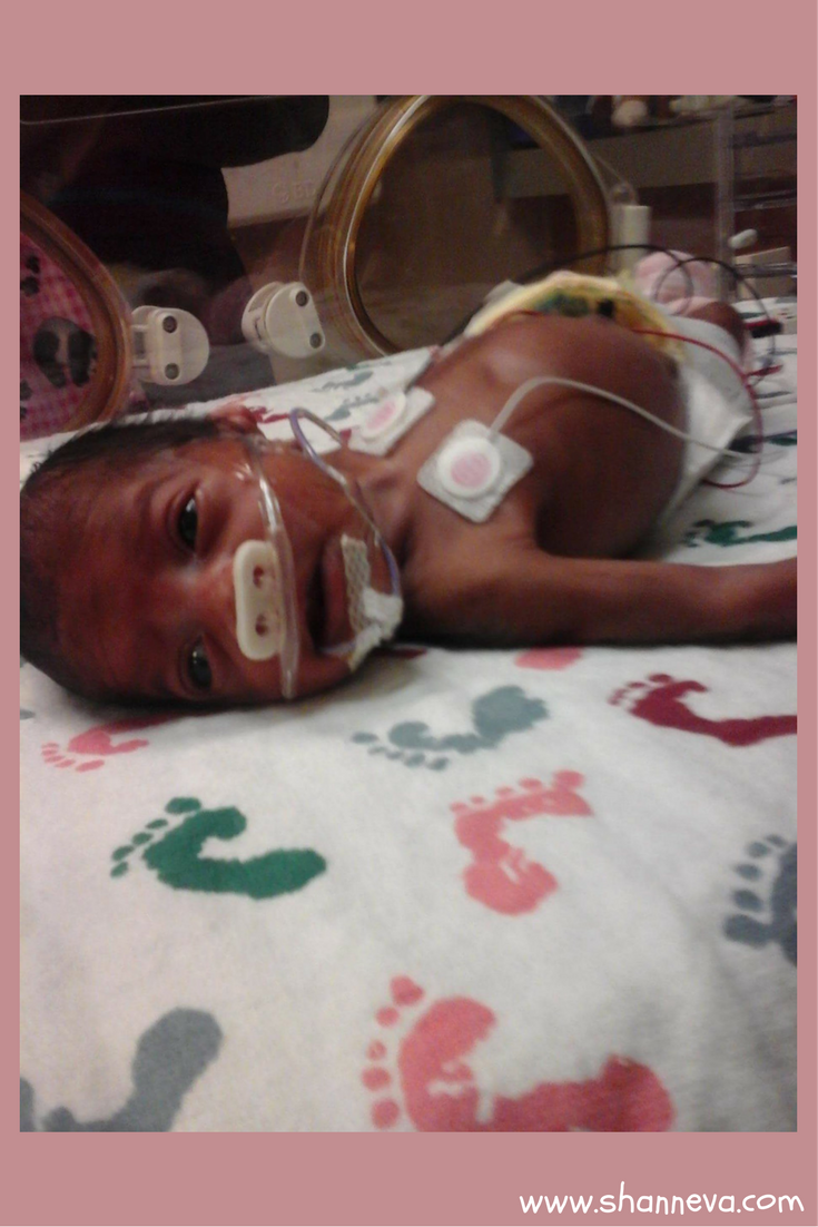 Smiling thru the NICU fight