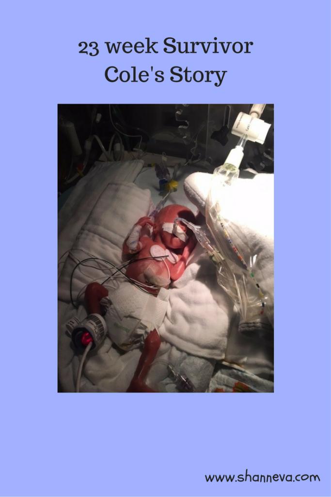 Meet a 23 week survivor of a high-risk triplet pregnancy