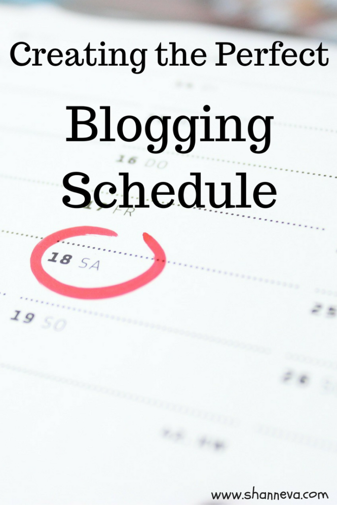 How to make a blogging schedule that maximizes your time and reduces your stress