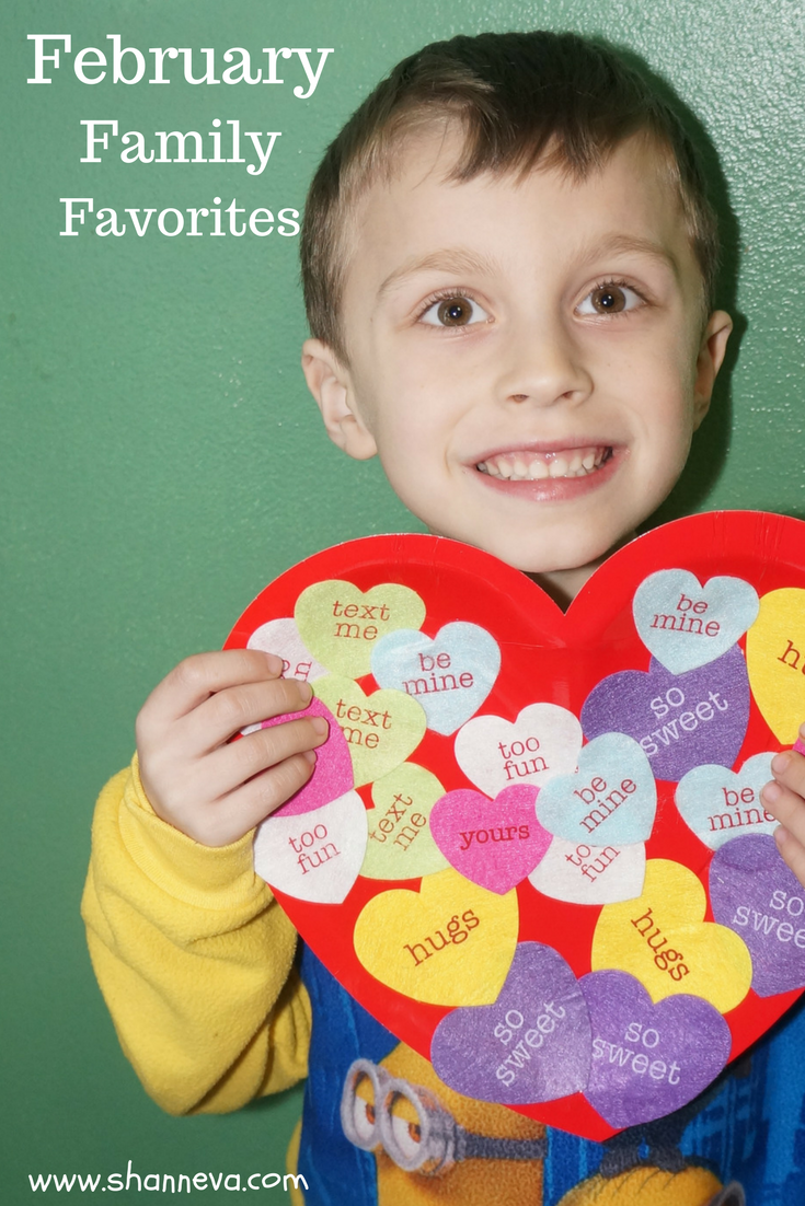 I'm sharing must-haves for everyone in your family. Books, TV shows, toys, games, and much more make up our February Family Favorites.