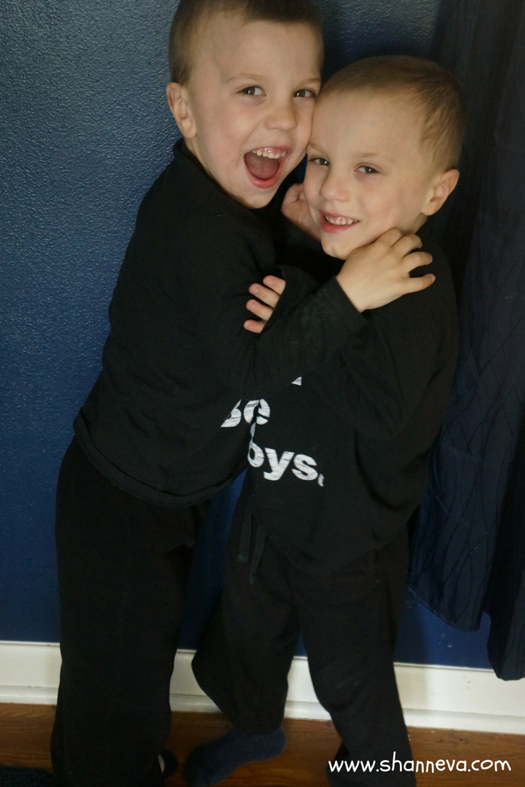 My 5-year-old twins