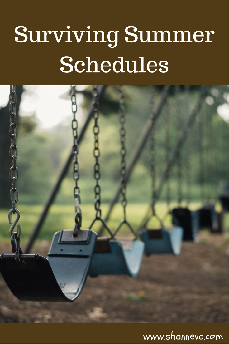 Surviving summer schedules while still having fun. Time saving tips to keep you on track with your activiites