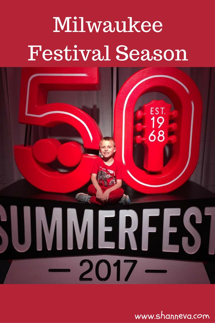 Milwaukee Festival Season. Summerfest. Milwaukee, WI