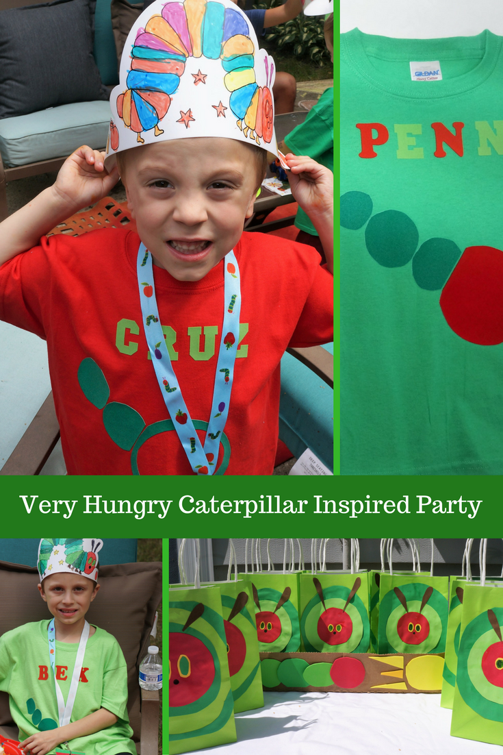 Very Hungry Caterpillar Inspired party ideas