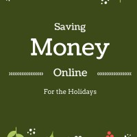 Saving Money Online for the Holidays