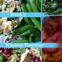 Whole30 Thursday, Week Three