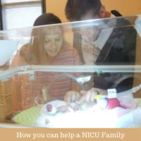 NICU Awareness Month and How to help a NICU family
