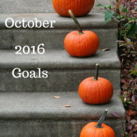 October 2016 Goals, How to keep accountable