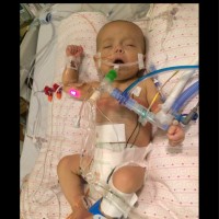 After a complication arose during pregnancy, sweet Kyliana's parents were still fighting for answers as she fought through numerous surgeries.