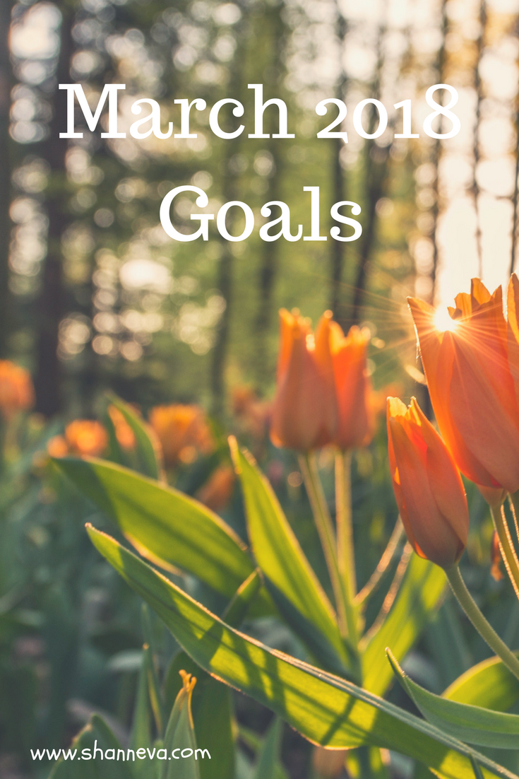 March 2018 goals #monthlygoals #familygoals #personalgoals #professionalgoals #goalgetter #goalmotivation