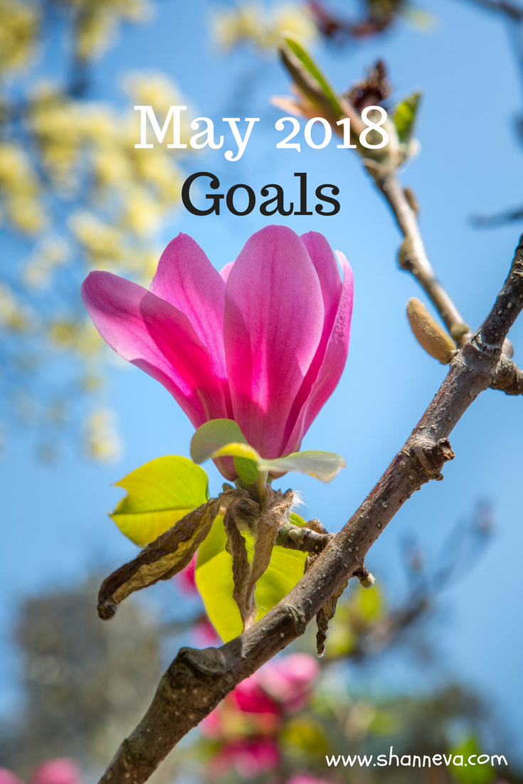 May 2018 goals #monthlygoals #motivation #goalgetter #familygoals #personalgoals #professionalgoals
