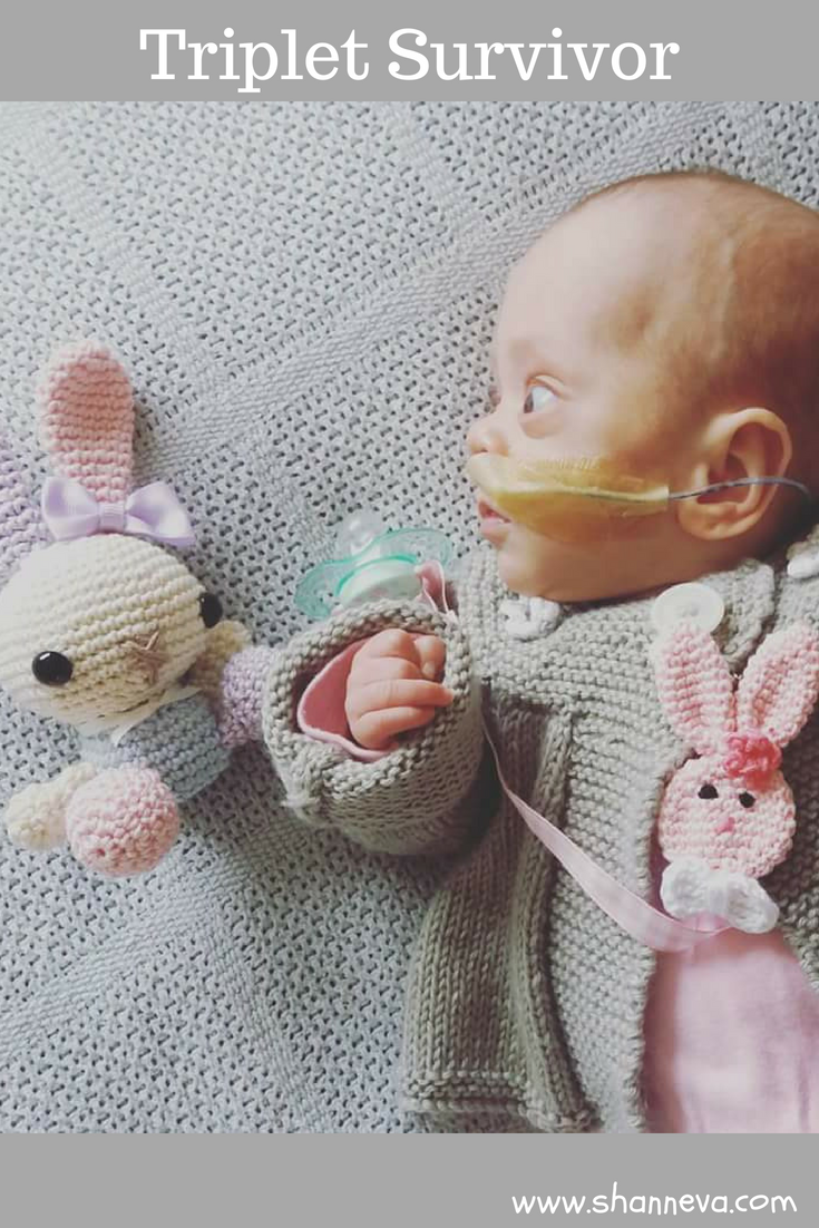 A heartbreaking, yet inspiring story of a triplet survivor #prematurebirth #NICU #triplet