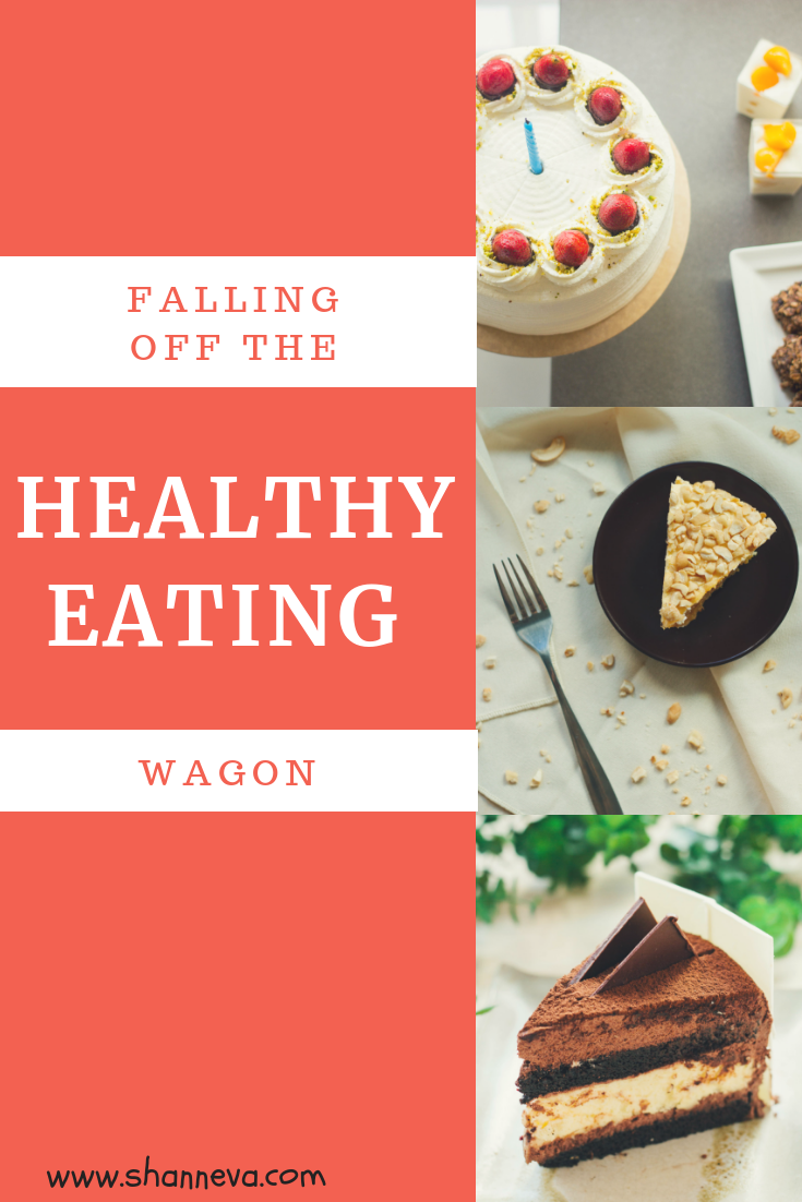 When you've fallen off the healthy eating wagon, how do you get back on track? #healthyeating #motivation #nutrition #selfcare