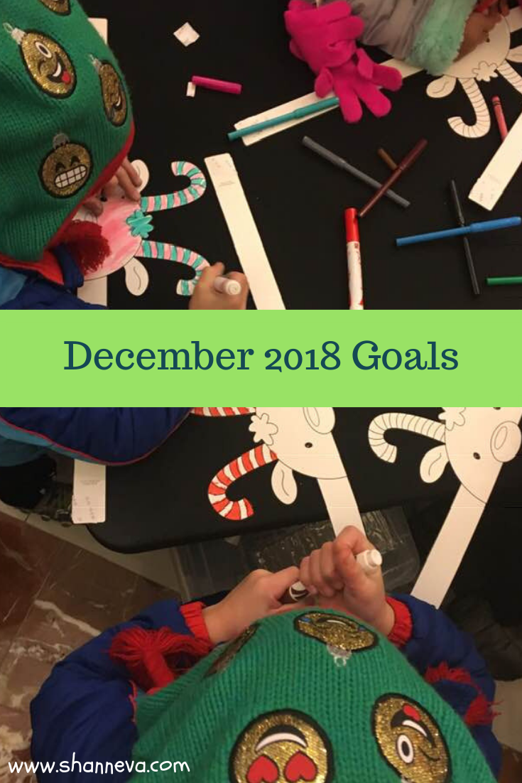 December 2018 Goals #personalgoals #healthgoals #familygoals #professionalgoals