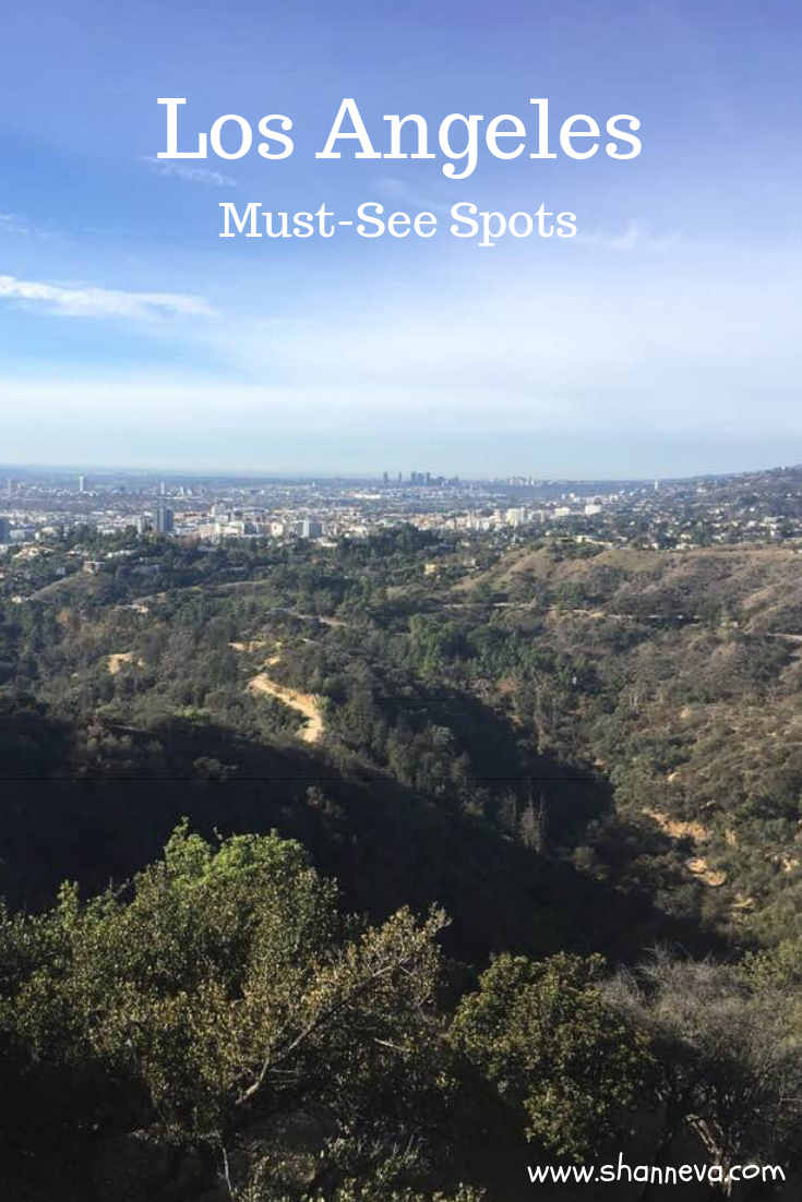 Los Angeles - Must-see spots when you only have a short amount of time #LosAngeles #LA #placestoseeinLA #Californiavacation