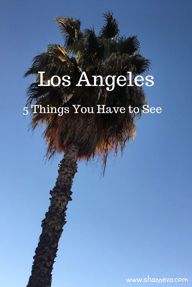 Los Angeles: 5 places you must visit on your trip to California #LosAngeles #California #Hollywood #VisitCalifornia