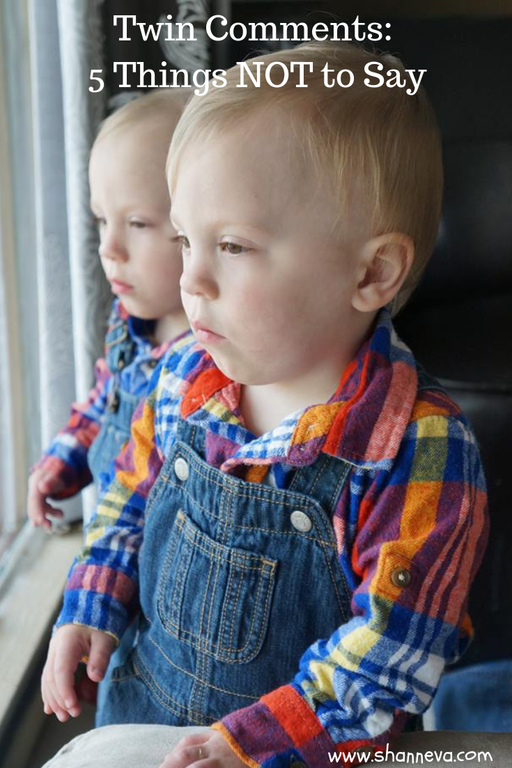 Twin Comments: 5 Things you should avoid saying to twin parents. #twins #identicaltwins