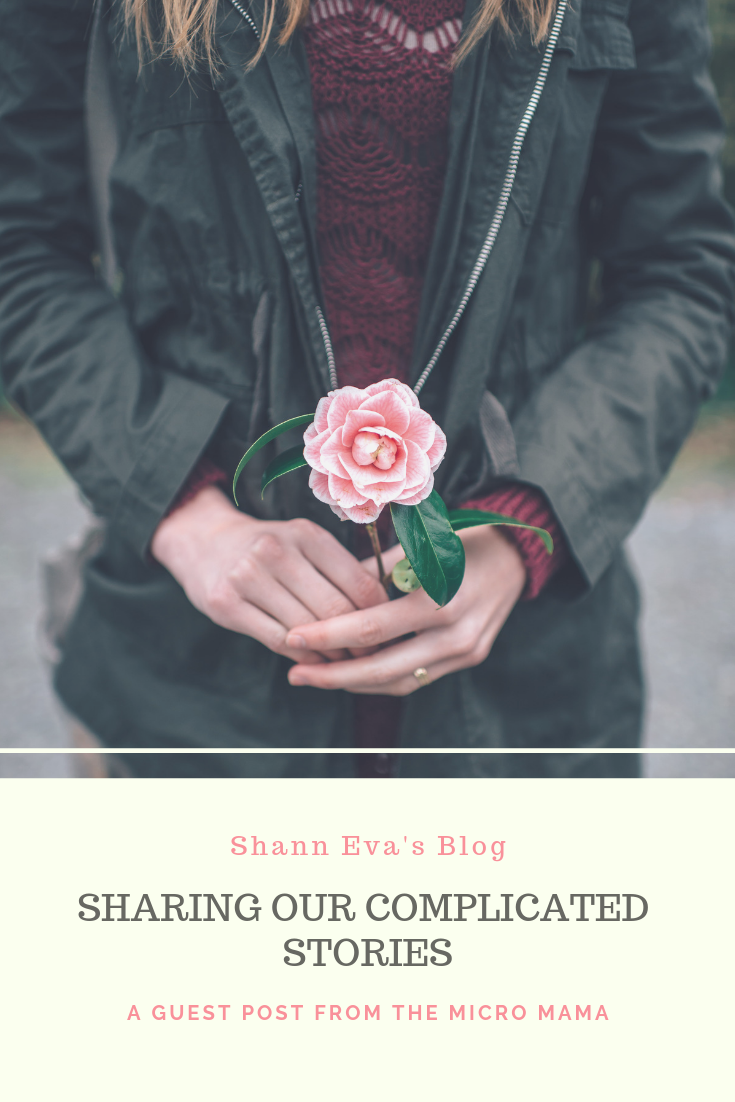 Complicated Stories: Why sharing can be healing for everyone