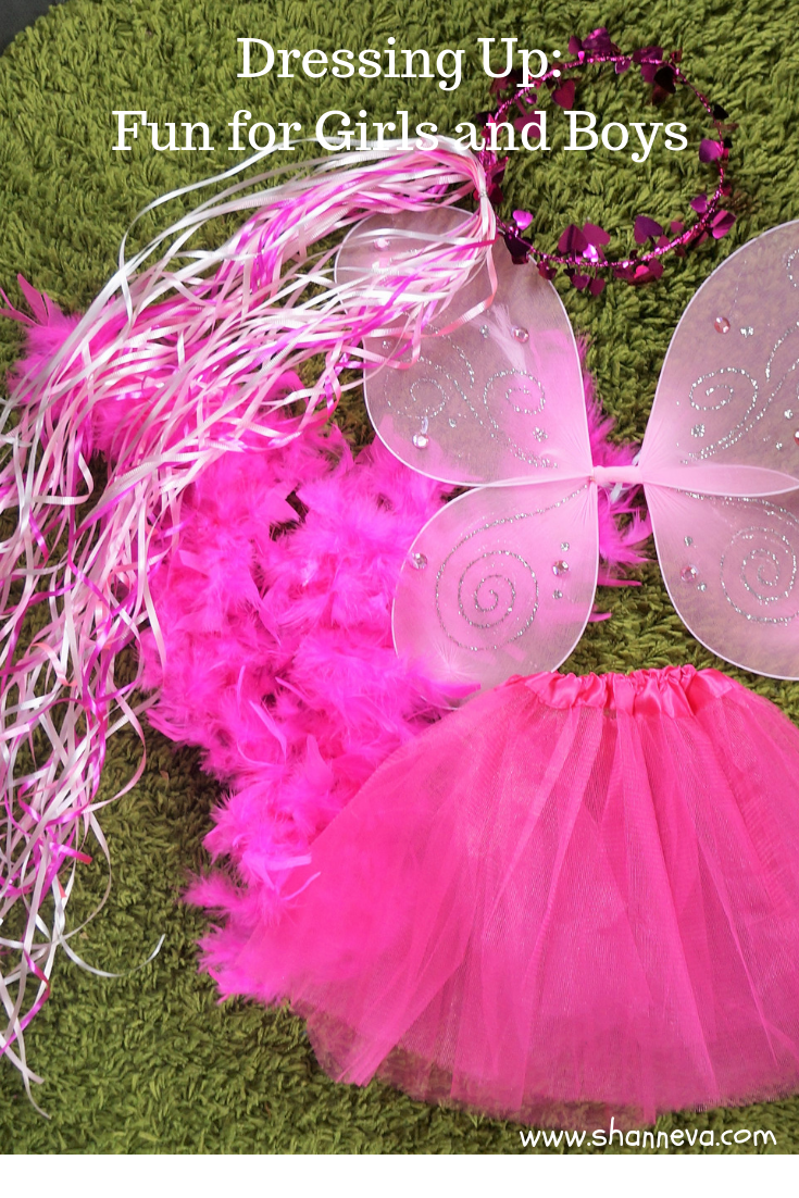 Dressing Up: Fun for Girls and Boys #dressingup #partyplanning #princessparty #makebelieve #fairywings #dressupwholesale.com #spon