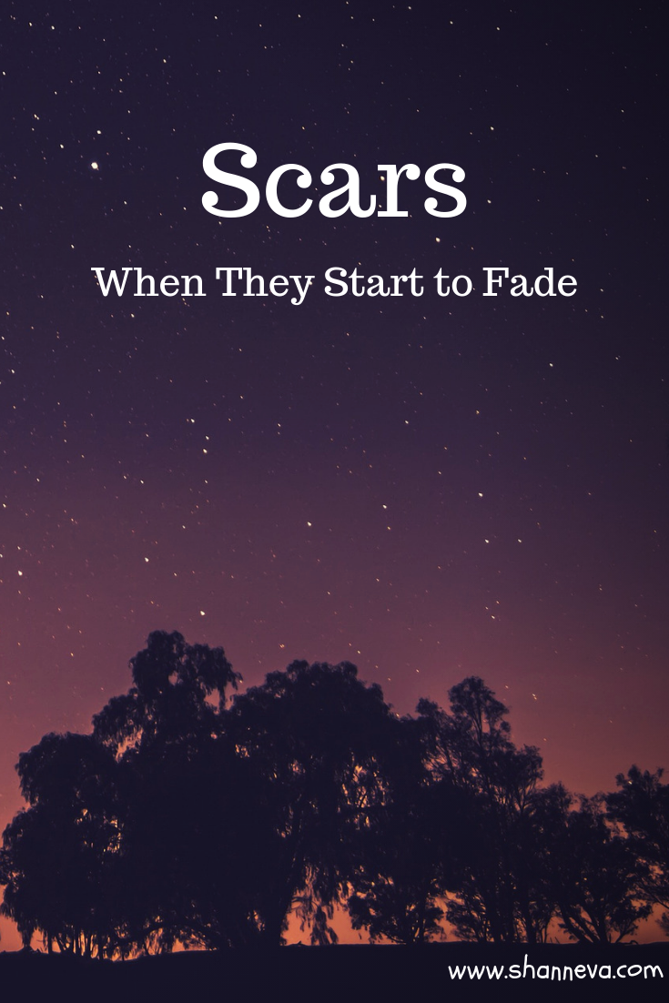 Scars: What happens when they start to fade? Do the memories too?