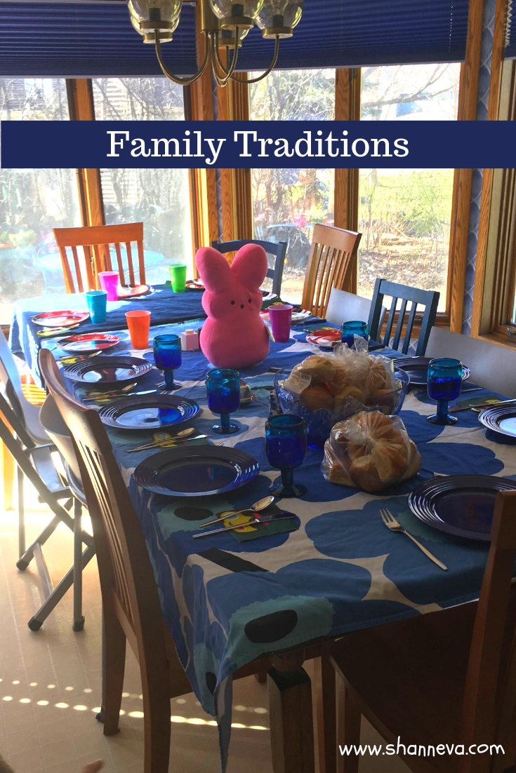 Family Traditions are so important, yet it's also important to know when to let them go, or when to start new ones.