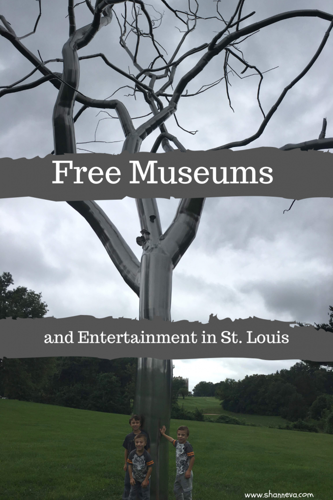Free Museums and Entertainment in St. Louis, MO. If you're looking for free activities while in St. Louis here are reviews of the Art Museum and the St. Louis Science Center.