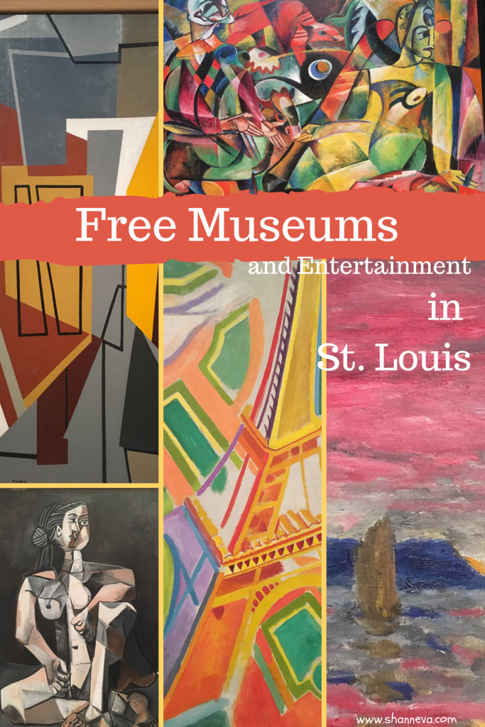 Free museums located in Forest Park in St. Louis are great family activities.