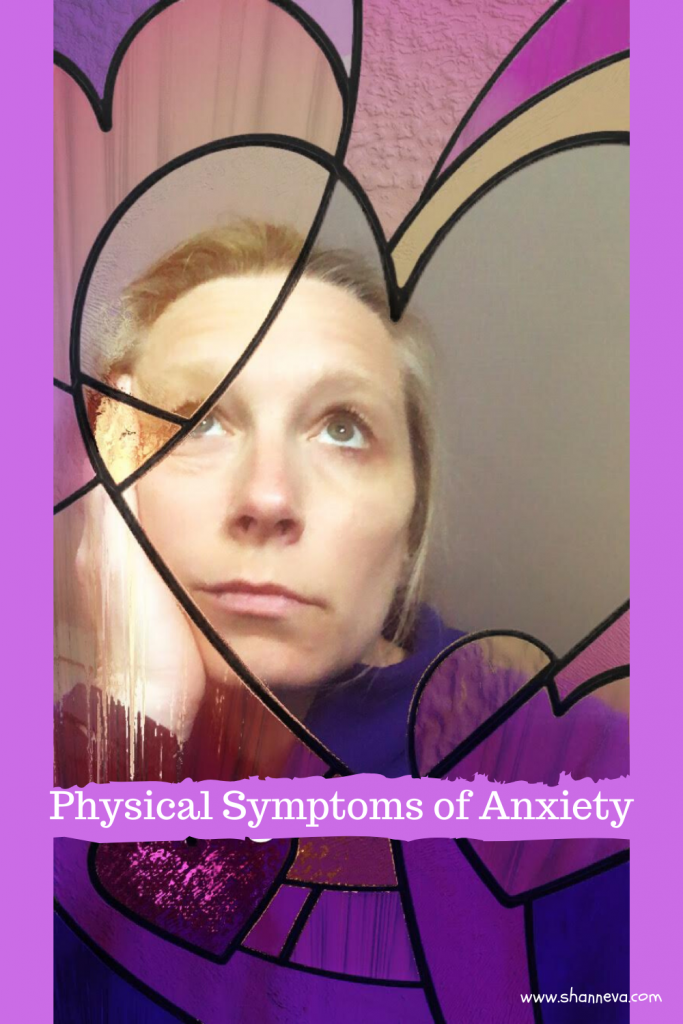 The Physical Symptoms of Anxiety are just as real as the mental ones. I'm putting my own symptoms on display.