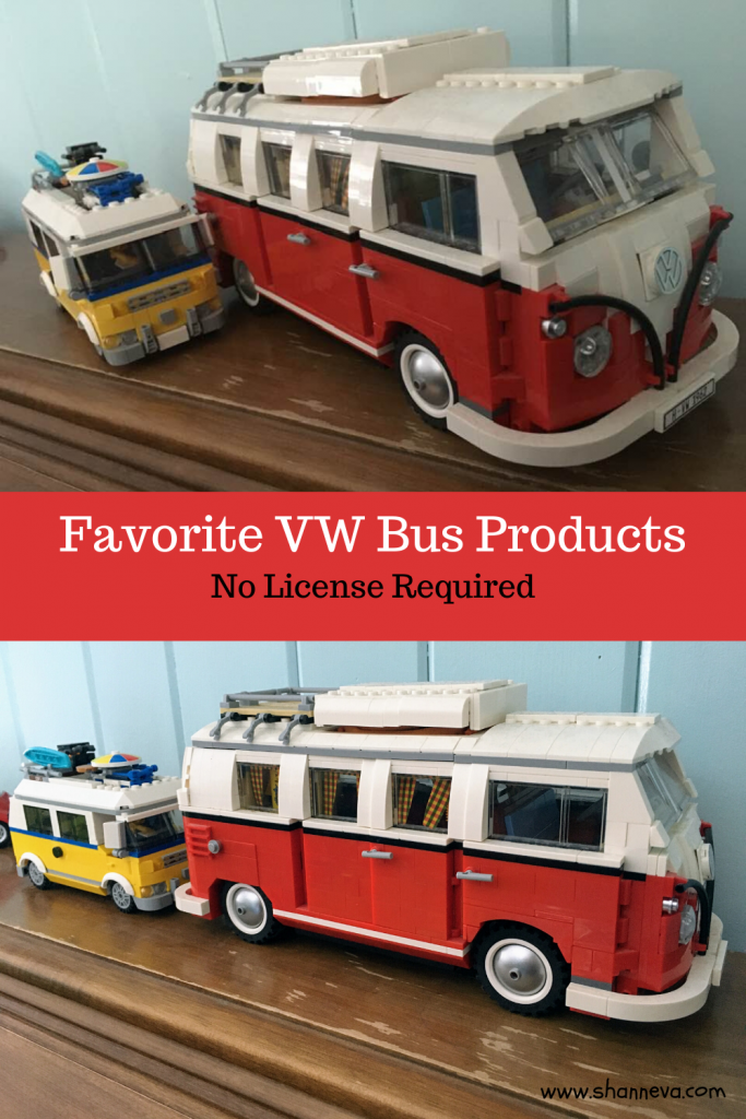 VW Bus gifts and gear for everyone on your list. Perfect birthday, anniversary, or just because present. VW bus toys, travel gear, home decor, and fashion
