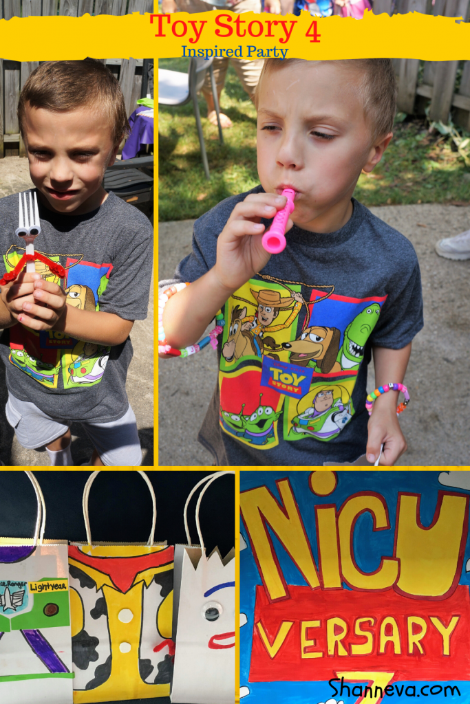 Decoration, game, and activity ideas to make your Toy Story Birthday party a success. Fun gift bags and great crafts.