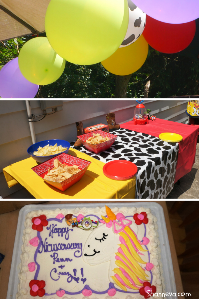 Decorations, food, DIY, games, toys and more to make your Toy Story 4 Party a huge success